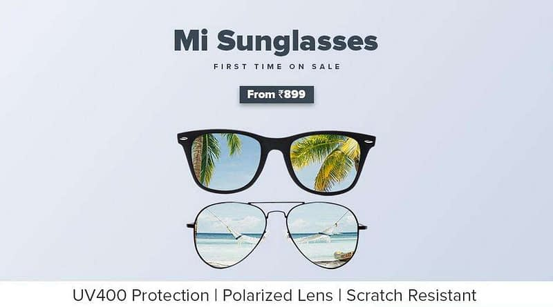 MI SUNGLASSES LAUNCHED IN INDIA STARTING AT A PRICE OF RS 899