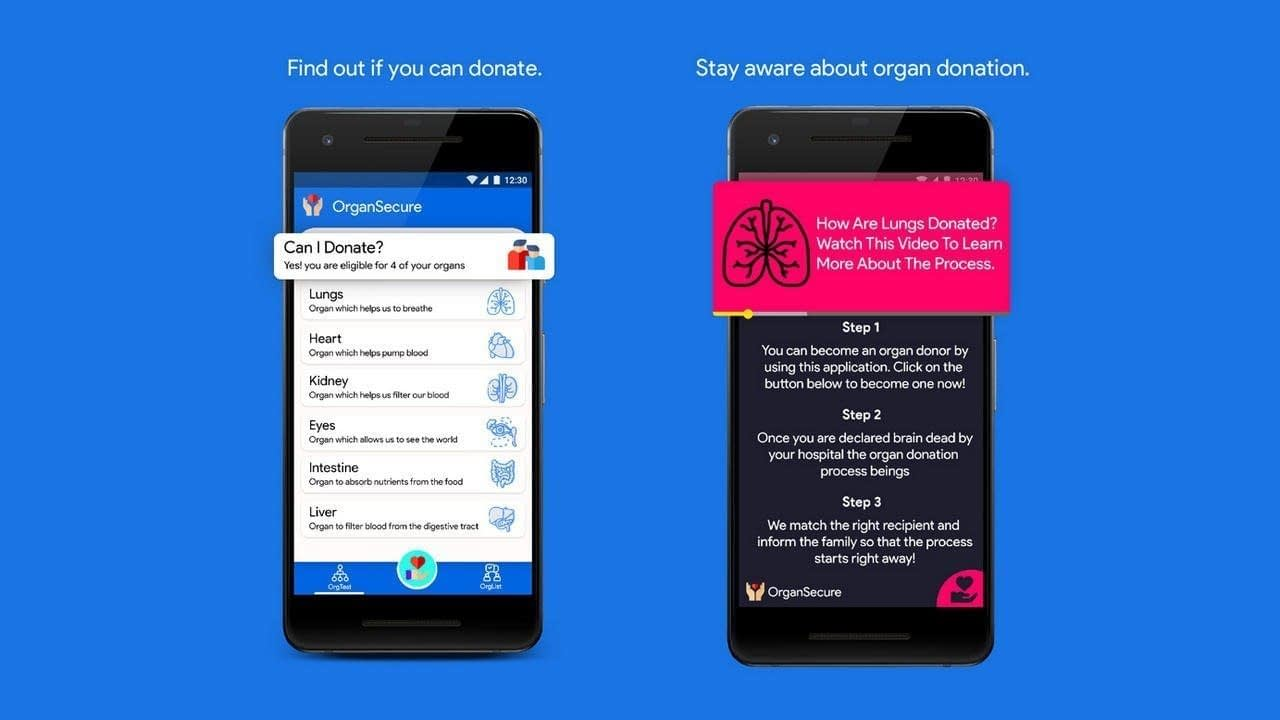 AN AI APP DEVELOPED BY AN INDIAN THAT LETS USERS DONATE AND
